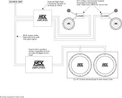 bi wiring speakers diagram solidfonts bi wiring connection pm5005