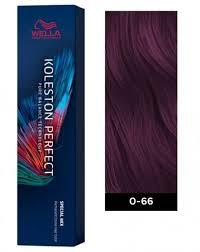 Wella Purple Colour Chart Wella Koleston Perfect Me Permanent Hair Color 0 66 Intense Violet
