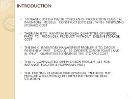 Inventory Control As Identification Problem Based On Fuzzy Logic