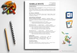 Resume Template Isabella White