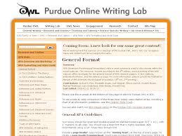 Owlenglishpurdueedu Purdue Owl Purdue Writing Lab