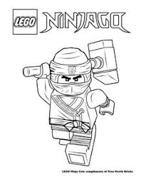 Lego Ninjago Movie Cole Coloring Pages
