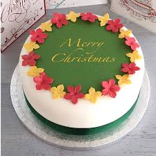 Personalised Christmas Cake Decorating Kit By Clever Little Cake