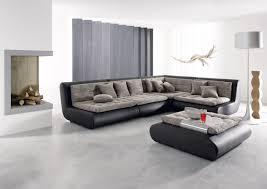 Details About Polstercouch Ecksofa Design Exit Seven L Form Ledersofa Mega Couch Strukturstoff