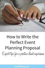 Party Proposal Template Best How To Write An Event Planning Proposal How To Be An Event Planner