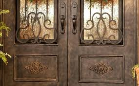wrought iron exterior doors. Wrought Iron Front Door Handles Doors Color Exterior