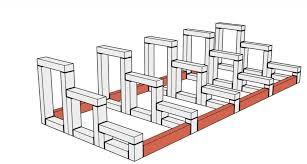 Deine treppe ist dann nur nicht so bequem oder stellt ggf. Treppe Aus Holz Fur Die Terrasse Bauen Bauanleitung