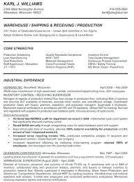 Material Management Resume Sample Sample Warehouse Lead Resume Warehouse Supervisor Resume Warehouse
