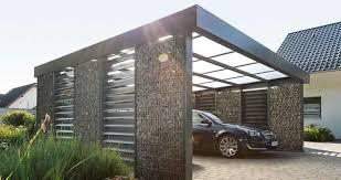 Carport Gabione Building Kit