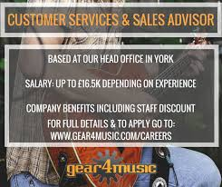 Livecareer Co Uk Gear4music Jobs Gear4musicjobs Twitter