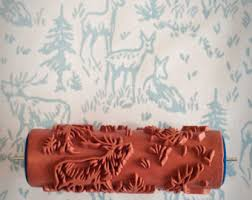 6 Patterned Paint Roller from The Painted House