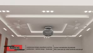 Sophisticated Simple Pop Designs For Ceiling Residential Building