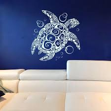 sea turtle wall decal vinyl