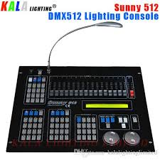 stage lighting 512 channels console high performance sunny 512 dmx lighting controller moving lighting controller dmx lighting console dj lighting