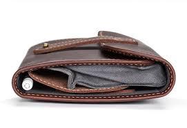 pad quill techfolio leather cord organizer