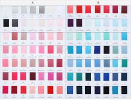 Yama Ribbon Satin Grosgrain Ribbon 196 Color Chart
