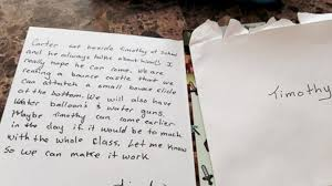 Class Party Invitation Mom Moved To Tears By Birthday Party Invitation Sent Home With Her