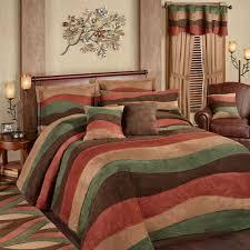 cadence wavy stripe faux suede oversized bedspread bedding