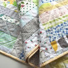 salty oat modern handmade quilts sunday morning lowvolume throw
