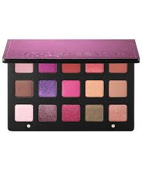 this 15 shade palette has violets and deep berries fit for a fantasy night