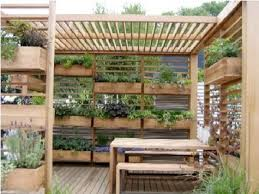 Small Picture Grow a Vertical Garden on Your Deck This is a very interesting
