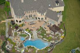 Backyards  Chic 106 Swimming Pool Ideas For Backyard Impressive Huge Backyard Pool