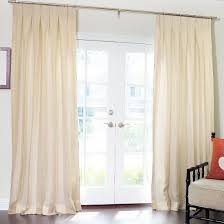 pure wide stripe sheer linen dry with inverted pleat