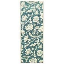 sweet home collection fl design ocean green 2 ft x 5 ft