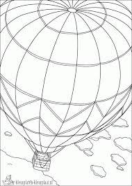 Kleurplaten Luchtballon Kleurplaten Kleurplaatnl