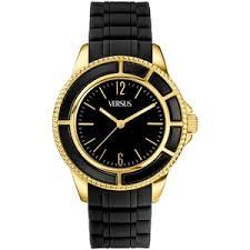 versus by versace watch unisex tokyo black rubber strap 42m versus by versace watch unisex tokyo black rubber strap 42mm al13lbq709 a009
