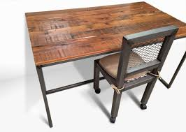 metal industrial furniture. Denver Colorado Industrial Desk And Chair Office Furniture Modern Made Of Metal