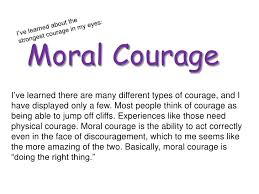 courage photo essay moral courage