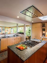 island exhaust hood. Wonderful Exhaust Flush Ceiling Mount Range Hood A Great Alternative For Open Space Over An  Island Cook Top Throughout Island Exhaust Hood L