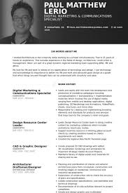 Digital Resume Template Digital Marketing Resume Samples Visualcv Resume  Samples Database