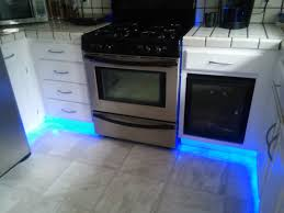 led strip lighting ideas kitchen from