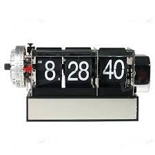 retro digital alarm clock retro digital flip page gear clock with alarm retro digital flip desk