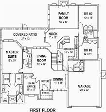 4 bedroom floor plan. Simple 4 Bedroom House Plans Elegant Floor Awesome 11 With Ranch Plan