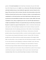 essay excellent effort realizing full credit of of possible   7 question the second amendment