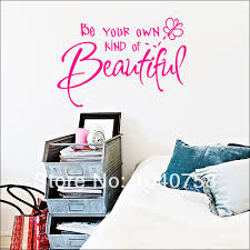 Be Your Own Kind Of Beautiful Quote Marilyn Monroe Best Of WOWSTickeRs Hotpink Be Your Own Kind Of Beautiful Butterfly Wall