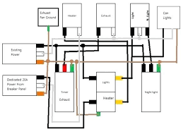 nutone fan light wiring diagram hunter harbor breeze ceiling for full size of hunter fan and light control wiring diagram bathroom exhaust nutone of a