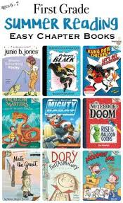 1st grade summer reading list for ages 6 and 7 from easy readers to