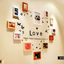Small Picture Handmade Wall Hanging Love Heard Picture Frame latest Design Wood