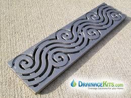 Decorative Grates Registers Decorative Grate In Dura Slope Grates 6 In Deco Grates Iron Age