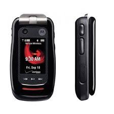 motorola flip phone. motorola barrage v860 - black (verizon) cellular phone flip 0