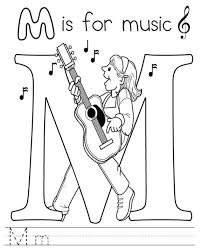 Elementary Music Coloring Sheets Elementary Music Coloring Sheets