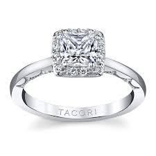 Tacori 14k White Gold Diamond Engagement Ring Setting 1 7 Cttw