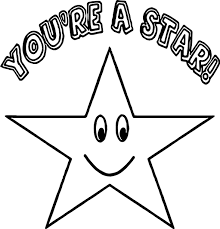 Small Picture You A Star Happy Star Coloring Page Wecoloringpage