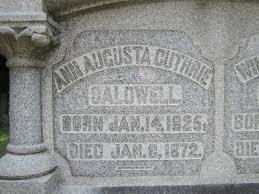 Ann Augusta Caldwell (Guthrie) (1825 - 1872) - Genealogy