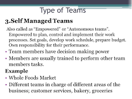 Pictures Of Self Managed Teams Examples Www Kidskunst Info