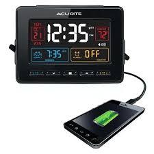 usb alarm clocks atomic dual clock with charger canada usb alarm clocks